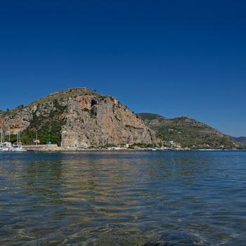 Terracina - Vista su Monte Giove